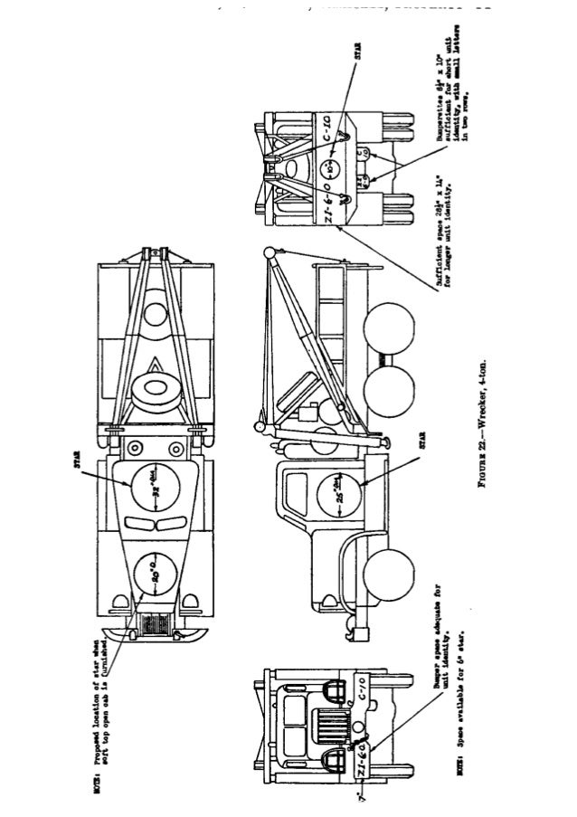FIGURE 22.—Wrecker,  4-ton.