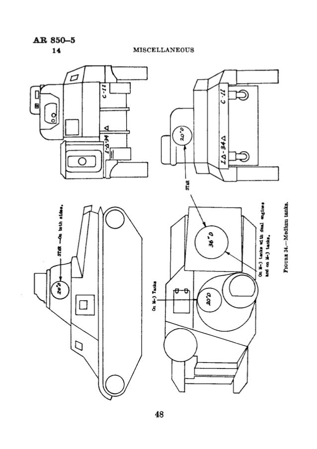 AR 850-5 MARKING or CLOTHING,  EQUIPMENT,  VEHICLES,  PROPERTY 15-17  SECTION IV  BAGGAGE AND PROPERTY  Paragraph Definitio...