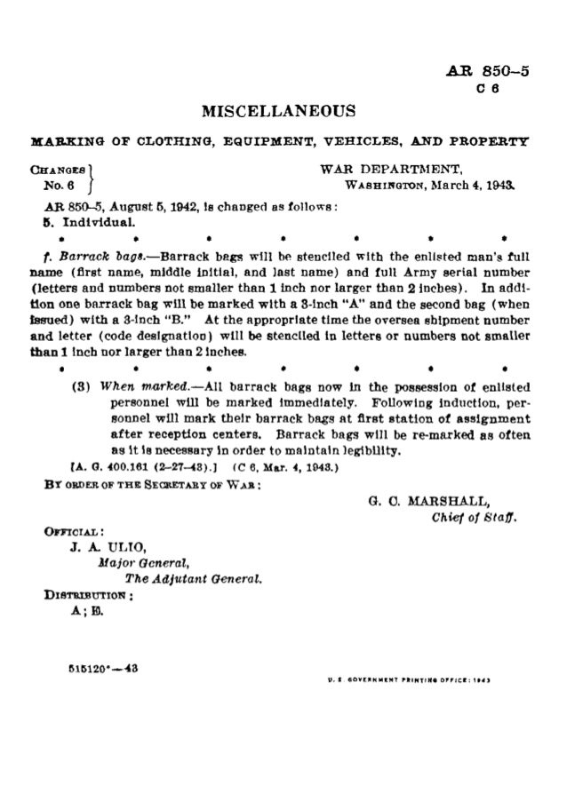 "T  -v v . .  5'     5 3 §  45  ¢ 17 -33""  [l§l| F'. J_| ,ll     MARKING OF CLOTHING,  EQUIPMENT,  m~c_  T Vflflv  ——   s »§ ..."