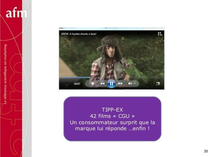 TIPP-EX 42 films «CGU» Un consommateur surprit que la marque lui réponde …enfin !