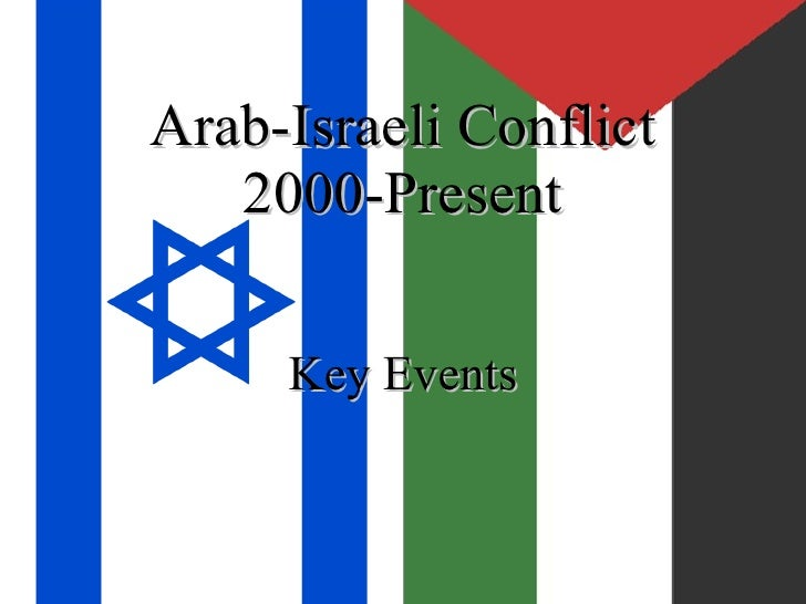 Arab-Israeli Conflict 2000-Present Key Events