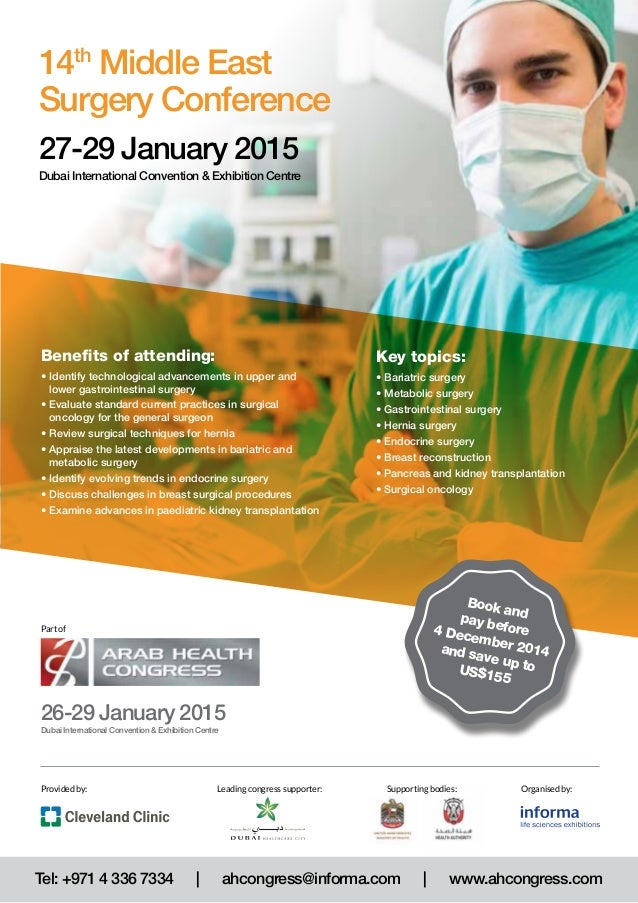14th Middle East Surgery Conference