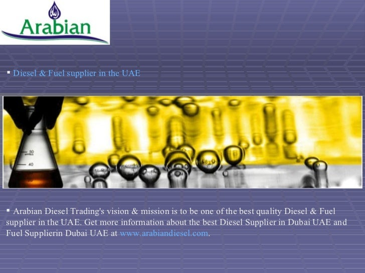 Arabian Diesel Trading is the one of the reputed Diesel
