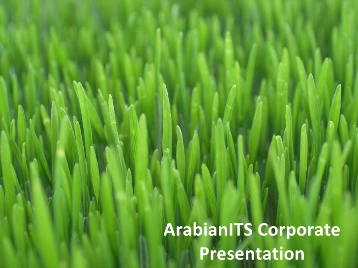 ArabianITS Corporate Presentation