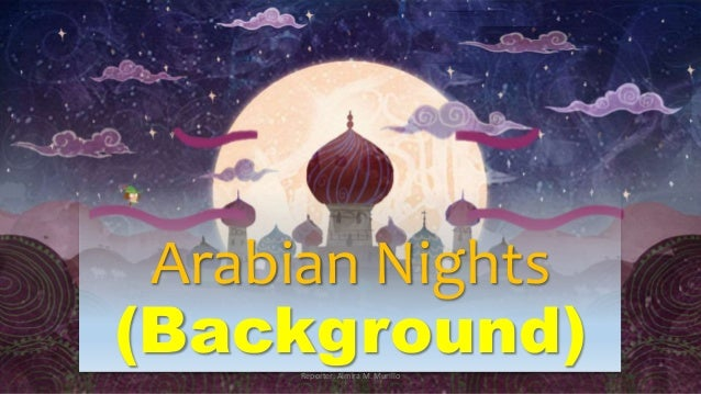 the thousand and one nights prologue