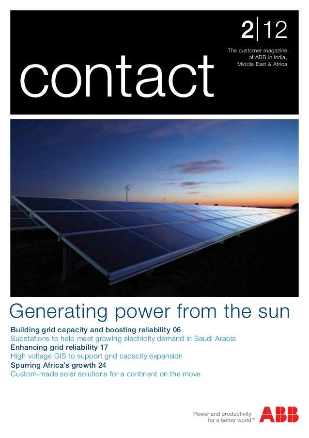 2 | 12  contact                                                                The customer magazine                      ...