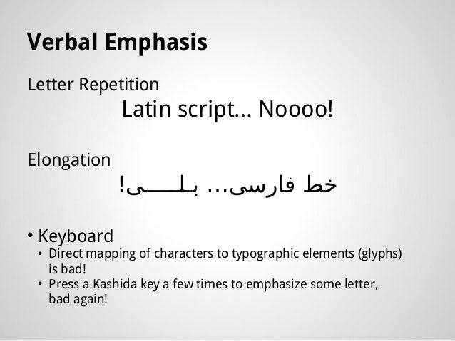 Arabic Script SHOULD NOT be so Scary!