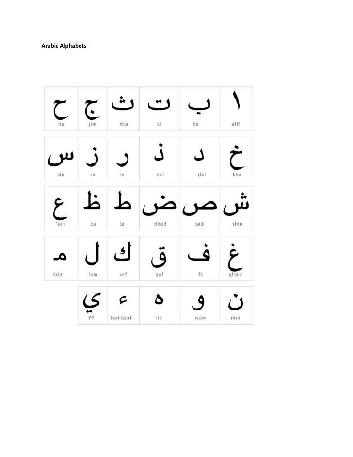 Read and write arabic letters lesson 056