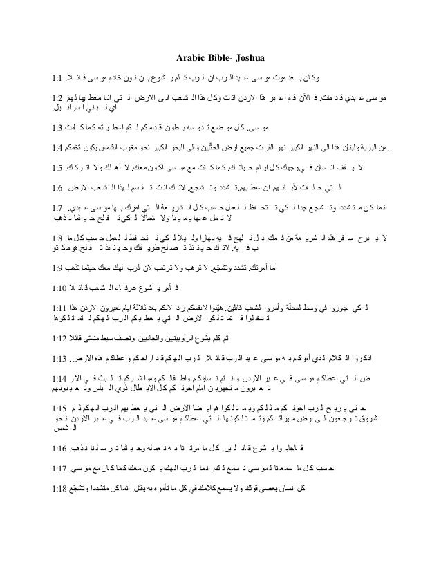 Arabic Bible Study - YouTube