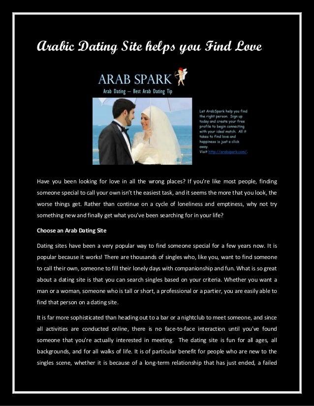 dating site arabiskHot dating på nettet