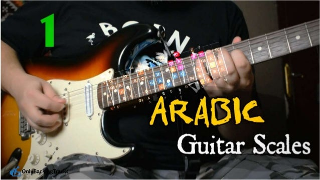 Arabic Guitar Scales Hijaz Positions