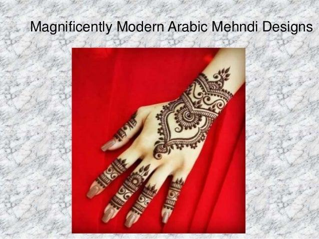 Awesome Arabic mehndi designs