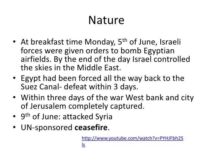 Effects 2• For those who stayed, Israeli rule meant restrictions on  lives, including heavy policy surveillance.• Egypt-Is...