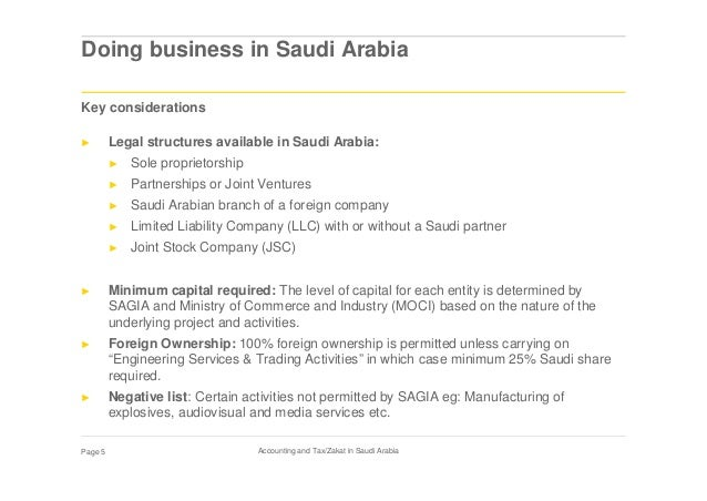 Accounting and Tax/Zakat in Saudi Arabia by Ernst & Young