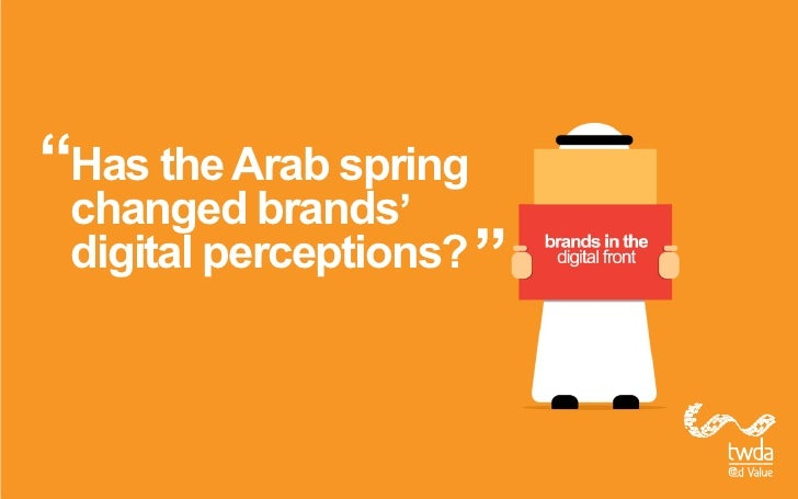 Has the Arab springchanged brandsdigital perceptions?