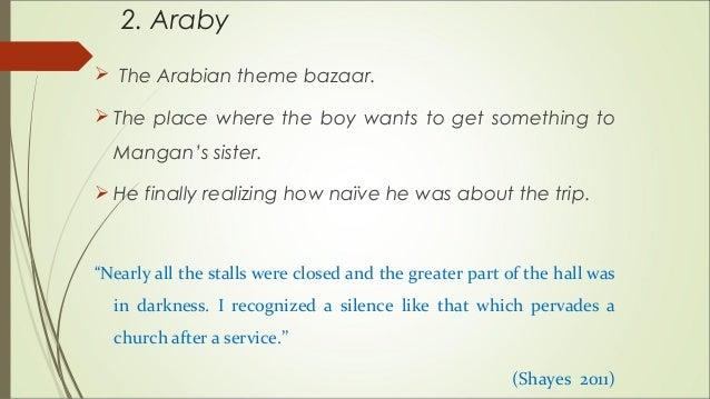Araby Analysis