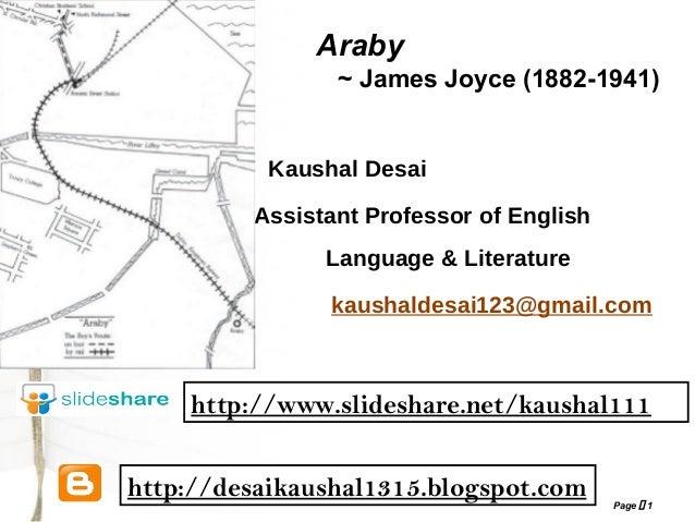 araby plot