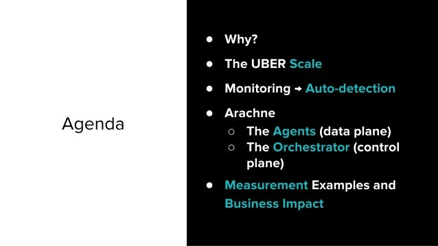 Arachne: How does Uber check the health of its Network Infrastructure every 10 seconds? Slide 2