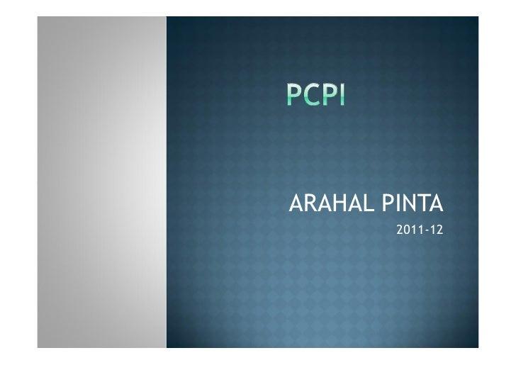 ARAHAL PINTA        2011-12