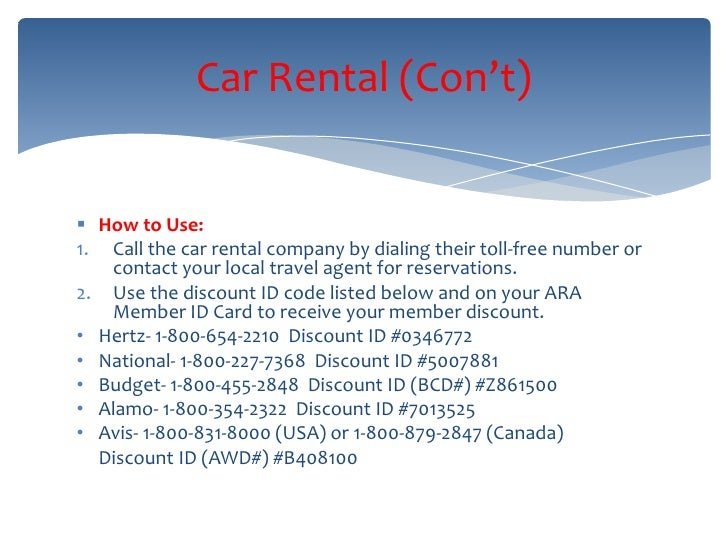 Alamo Car Rental Toll Free Number