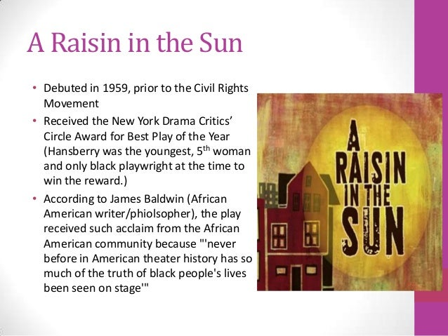 elements used in raisin in the sun essay