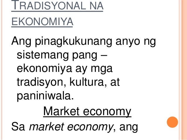 sistemang pang ekonomiya ng poland Komunismo - isang sistemang pang-ekonomiya (command) kung saan ang estado ang nagmamay-ari at kumukontrol sa yaman ng bansa at produksyon ang pagsagot sa mga.