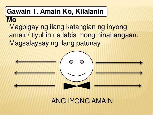 sanaysay ukol sa karanasan Maaaring sa buhay nating mga kabataan ngayon, mas nakararami na ang kabataang hindi na gumagalang sa kanilang magulang o kaya'y wala ng pakialam.