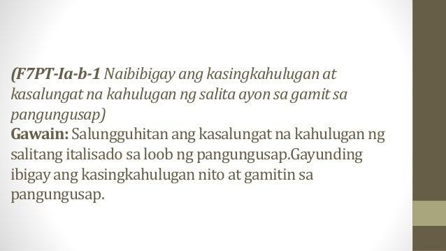 •1. Luminga-linga ang magnanakaw kung may nakakita sa kanya habang may isang nakatutok lamang sa pagkakamasid sa kanya. Ka...