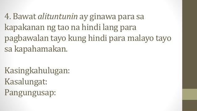 5. Ihabilin mo ang mga dapat gawin sa iyong bunsong kapatid na maiiwan, delikado kung ipagwawalang bahala mo lang na maiiw...