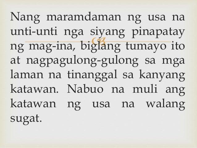  Nang maramdaman ng usa na unti-unti nga siyang pinapatay ng mag-ina, biglang tumayo ito at nagpagulong-gulong sa mga lam...
