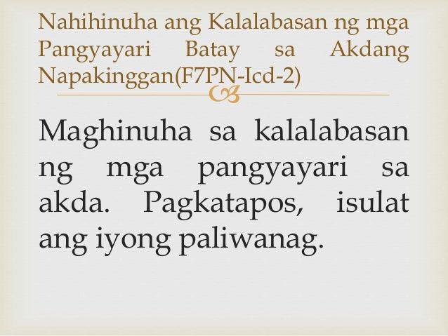  Maghinuha sa kalalabasan ng mga pangyayari sa akda. Pagkatapos, isulat ang iyong paliwanag. Nahihinuha ang Kalalabasan n...