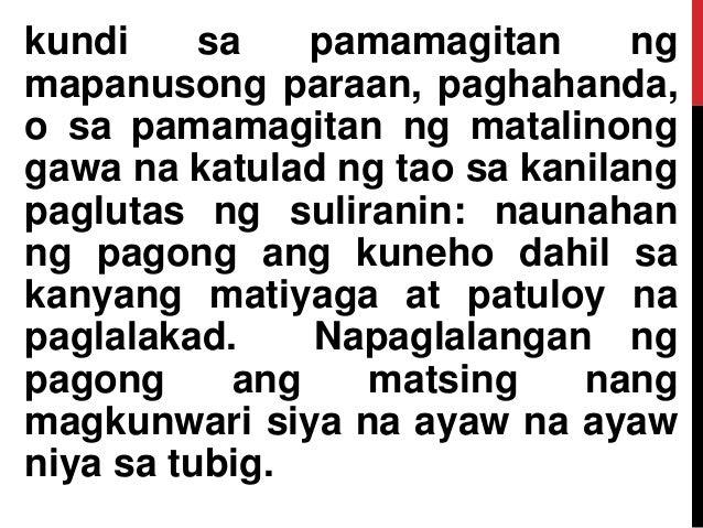 kundi sa pamamagitan ng mapanusong paraan, paghahanda, o sa pamamagitan ng matalinong gawa na katulad ng tao sa kanilang p...