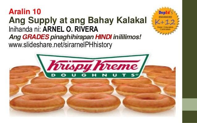 Aralin 10 Ang Supply at ang Bahay Kalakal Inihanda ni: ARNEL O. RIVERA Ang GRADES pinaghihirapan HINDI inililimos! www.sli...