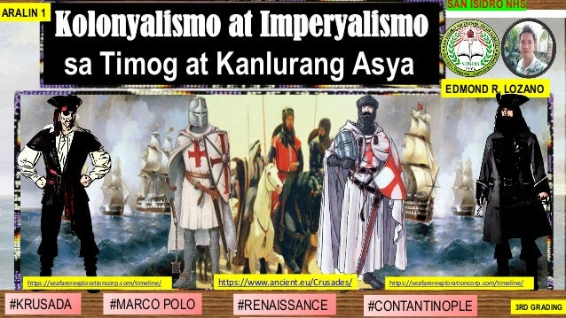 #SIBILISASYON #PAG-UNLAD #KONTRIBUSYON#KABIHASNAN 2ND GRADING SAN ISIDRO NHS Kolonyalismo at Imperyalismo sa Timog at Kanl...
