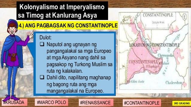 #SIBILISASYON #PAG-UNLAD #KONTRIBUSYON#KABIHASNAN 2ND GRADING Kolonyalismo at Imperyalismo sa Timog at Kanlurang Asya Dulo...
