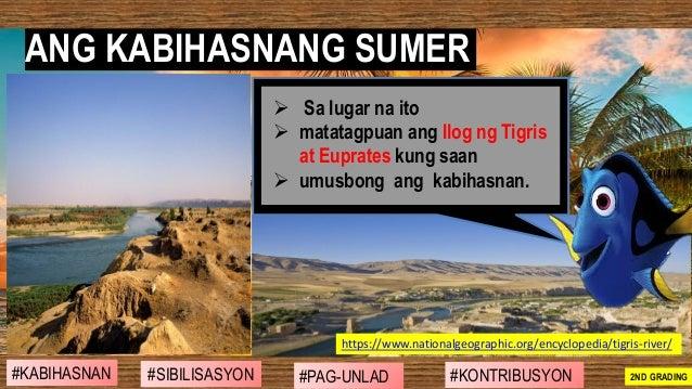 ANG KABIHASNANG SUMER #SIBILISASYON #PAG-UNLAD #KONTRIBUSYON#KABIHASNAN 2ND GRADING https://www.nationalgeographic.org/enc...