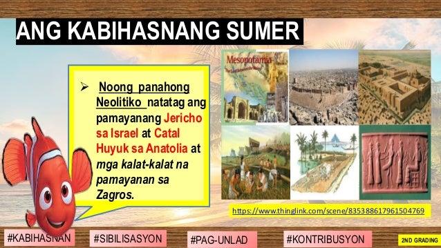 ➢ Noong panahong Neolitiko natatag ang pamayanang Jericho sa Israel at Catal Huyuk sa Anatolia at mga kalat-kalat na pamay...