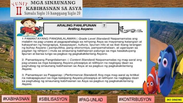 #SIBILISASYON #PAG-UNLAD #KONTRIBUSYON#KABIHASNAN 2ND GRADING 7