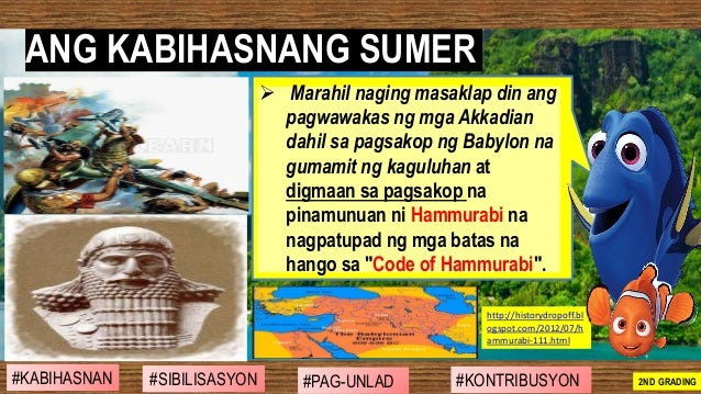 ➢ Marahil naging masaklap din ang pagwawakas ng mga Akkadian dahil sa pagsakop ng Babylon na gumamit ng kaguluhan at digma...