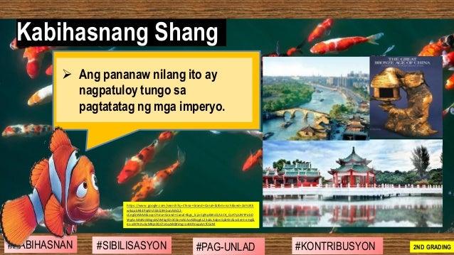 ➢ Ang pananaw nilang ito ay nagpatuloy tungo sa pagtatatag ng mga imperyo. Kabihasnang Shang #SIBILISASYON #PAG-UNLAD #KON...