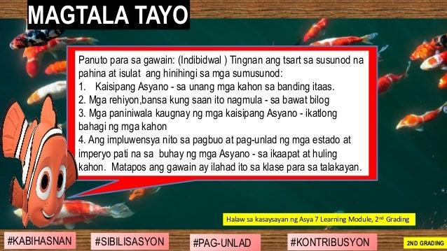 #SIBILISASYON #PAG-UNLAD #KONTRIBUSYON#KABIHASNAN 2ND GRADING MAGTALA TAYO Panuto para sa gawain: (Indibidwal ) Tingnan an...