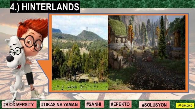 #SOLUSYON#EPEKTO#SANHI#BIODIVERSITY 1ST GRADING#LIKAS NA YAMAN 4.) HINTERLANDS