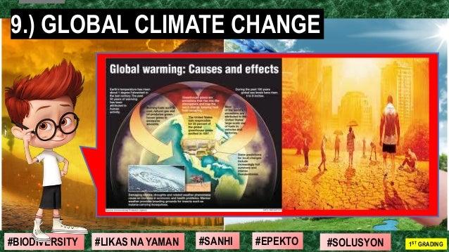 #SOLUSYON#EPEKTO#SANHI#BIODIVERSITY 1ST GRADING#LIKAS NA YAMAN 17 9.) GLOBAL CLIMATE CHANGE