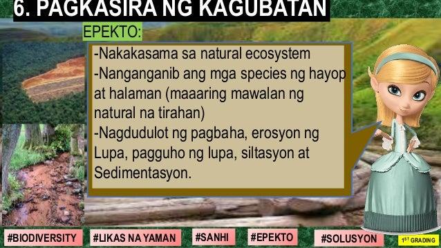 #SOLUSYON#EPEKTO#SANHI#BIODIVERSITY 1ST GRADING#LIKAS NA YAMAN EPEKTO: -Nakakasama sa natural ecosystem -Nanganganib ang m...