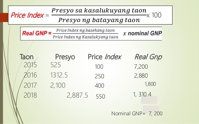 nominal gnp definition