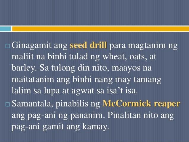  Ginagamit ang seed drill para magtanim ng maliit na binhi tulad ng wheat, oats, at barley. Sa tulong din nito, maayos na...