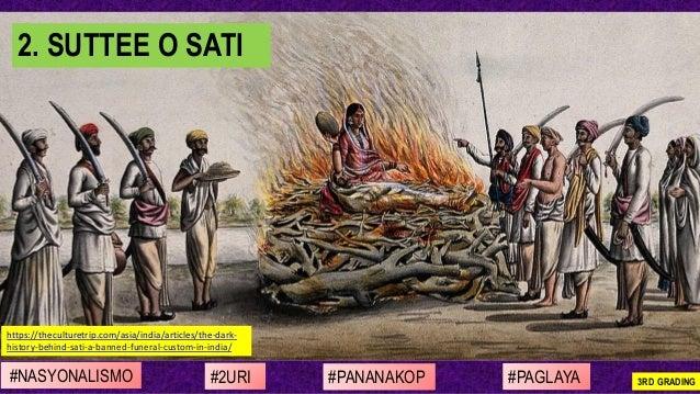 #NASYONALISMO #PAGLAYA#2URI #PANANAKOP 3RD GRADING https://theculturetrip.com/asia/india/articles/the-dark- history-behind...
