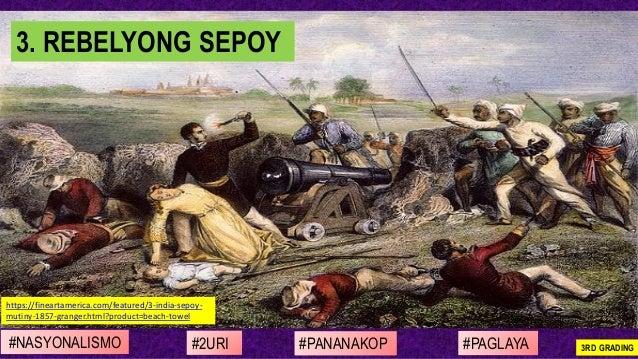 #NASYONALISMO #PAGLAYA#2URI #PANANAKOP 3RD GRADING https://fineartamerica.com/featured/3-india-sepoy- mutiny-1857-granger....