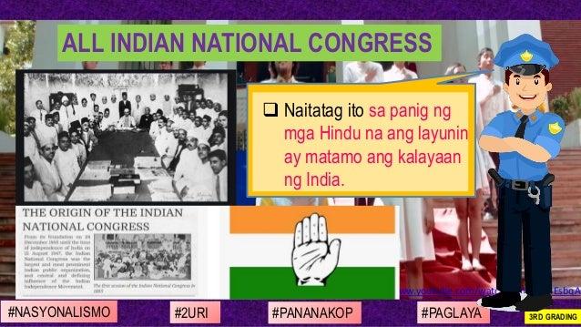 https://www.youtube.com/watch?v=qd-G48EsbqA ❑ Naitatag ito sa panig ng mga Hindu na ang layunin ay matamo ang kalayaan ng ...