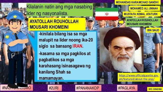 -kinilala bilang isa sa mga malupit na lider noong ika-20 siglo sa bansang IRAN. -kasama sa mga pagkilos at pagbatikos sa ...